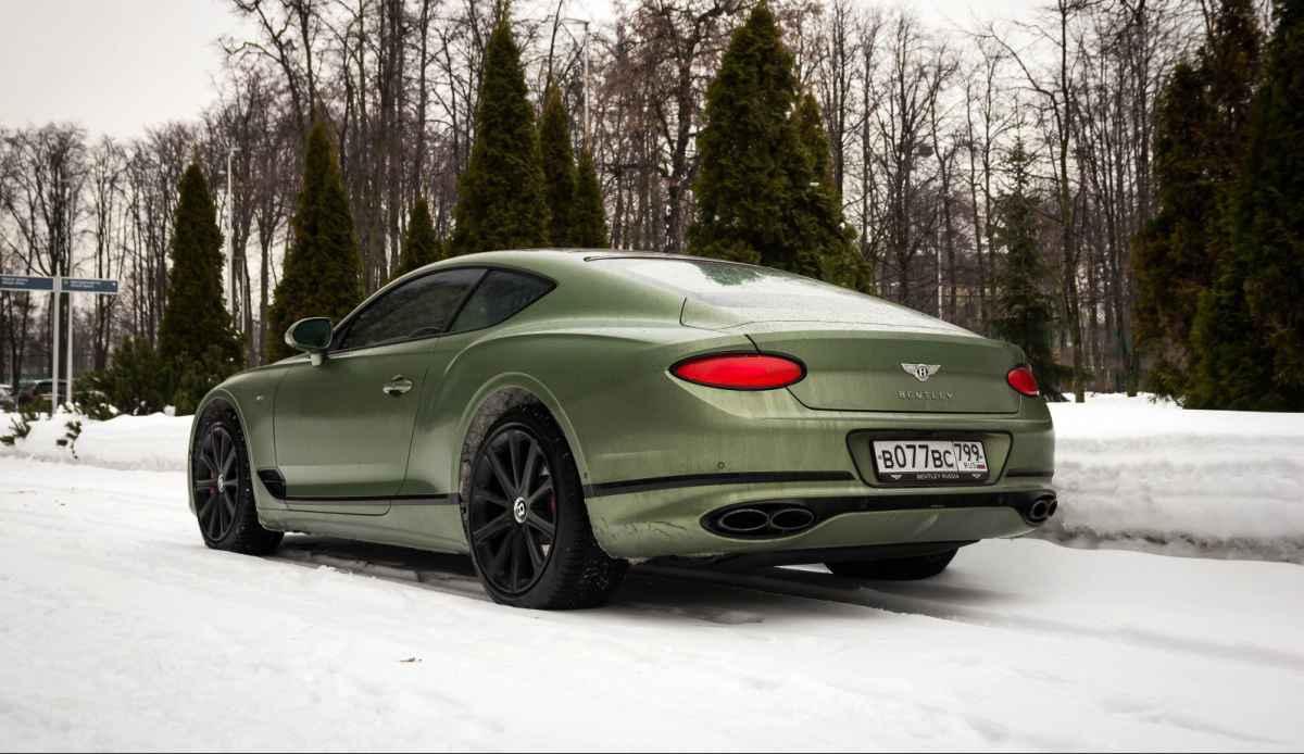 Bentley Continental GT V8 (2020)