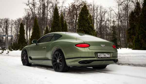 Bentley Continental GT V8 (2020)