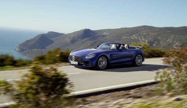 ЖЕНЕВА 2019 Mercedes-AMG GT R Roadster ОФИЦИАЛЬНО