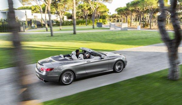 Mercedes-Benz официально представили S-Class Cabrio