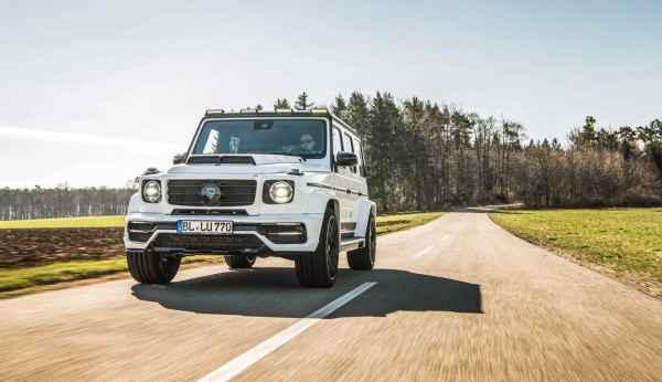 Mercedes-AMG G63 Lumma Design