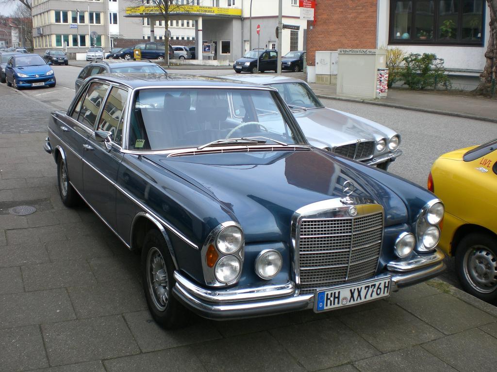 История Mercedes-Benz - Blamper ru